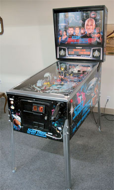 Star Trek Next Generation Pinball Machine For Sale