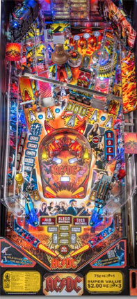 AC/DC Pinball Machine For Sale by Stern
