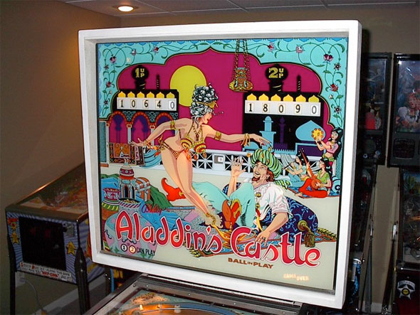 Aladdin's Castle Pinball Machine For Sale Bally