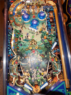 Captain Fantastic Pinball Machine For Sale featuring Elton John from Tommy