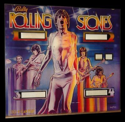 Bally Rolling Stones pinball machine for sale