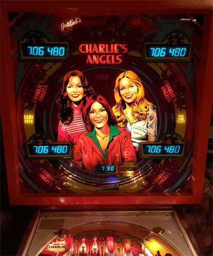 Charlie's Angels Pinball Machine For Sale