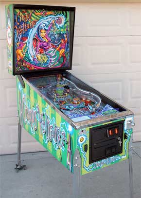 Cirqus Voltaire Pinball Machine For Sale