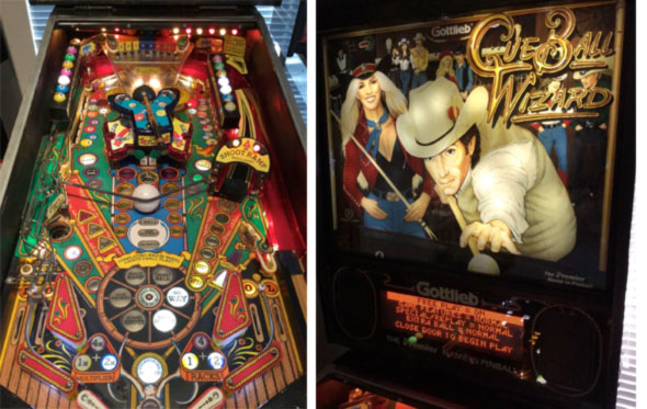Cue Ball Wizard Pinball Machine For Sale Gottlieb