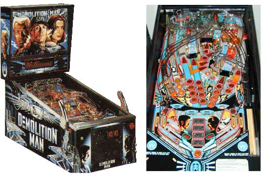 Demolition Man Pinball Machine For Sale