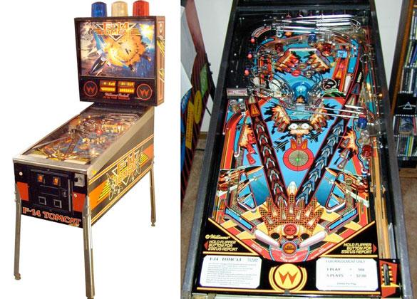 f 14 tomcat pinball machine