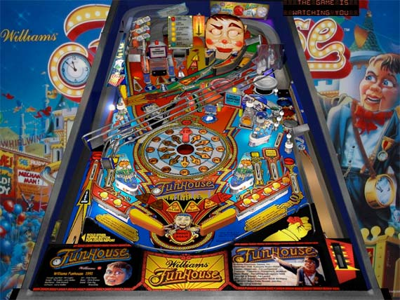 funhouse pinball machine for sale