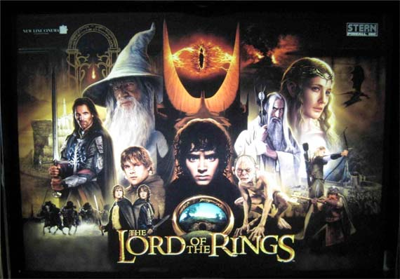 Lord of the Rings LOTR Pinball Machine For Sale