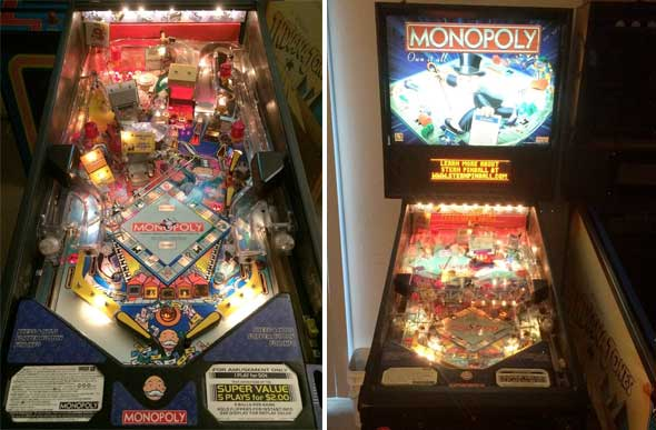 Monopoly Pinball Machine For Sale Stern