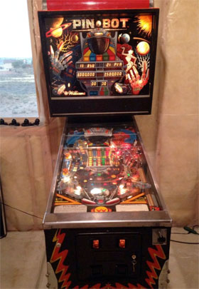 Pinbot Pinball Machine For Sale Used