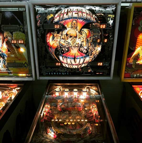 Silverball Mania Pinball Machine For Sale