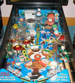 South Park Pinball Machine For Sale Used Cheap Sega