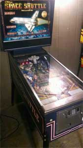 williams space shuttle pinball machine value