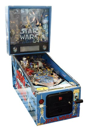 Star Wars Pinball Machine For Sale Data East 1992
