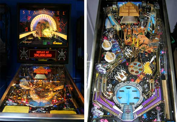 Stargate Pinball Machine For Sale Gottlieb