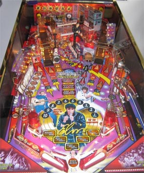 Elvis Pinball Machine For Sale Stern