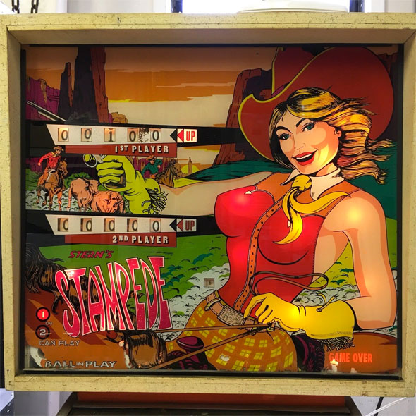 Stern Stampede Pinball Machine For Sale