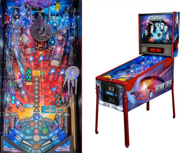 Stern Star Trek Pinball Machine For Sale