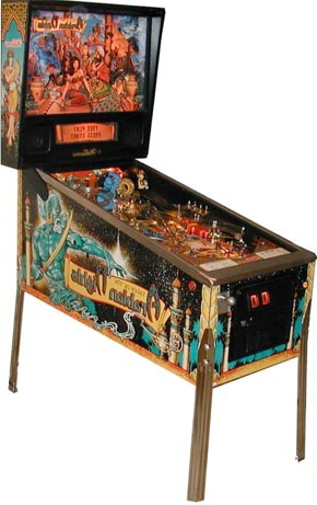 Tales of the Arabian Nights Pinball Machine For Sale Williams Genie