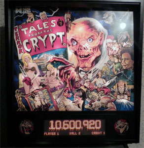 Tales from the Crypt Pinball Machine For Sale Used