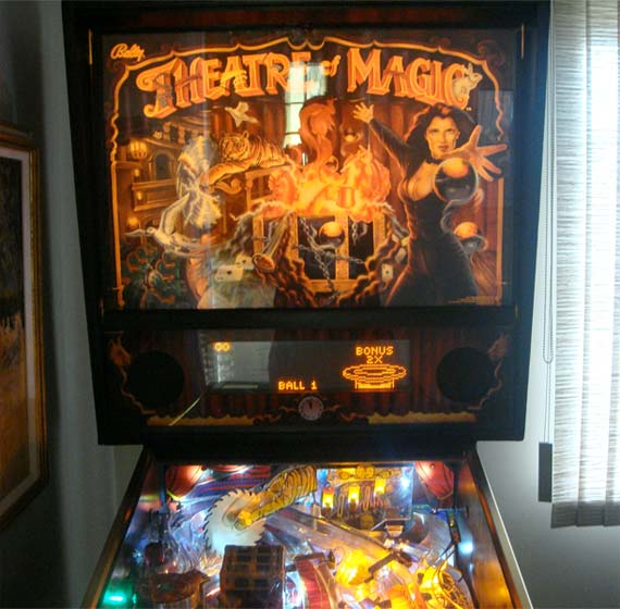 Theatre of Magic Pinball Machines for sale