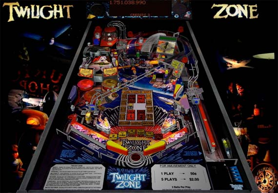 twilight zone slot machine for sale
