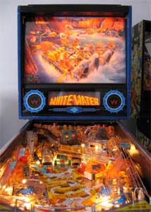 whitewater pinball photo