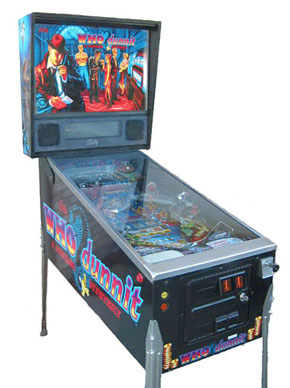 Who Dunnit Pinball Machine For Sale