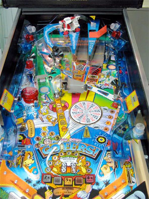 No Good Gofers Pinball Machine For Sale