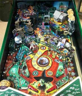 Jersey Jacks Wizard of Oz Emerald City Pinball Machine For Sale WOZ